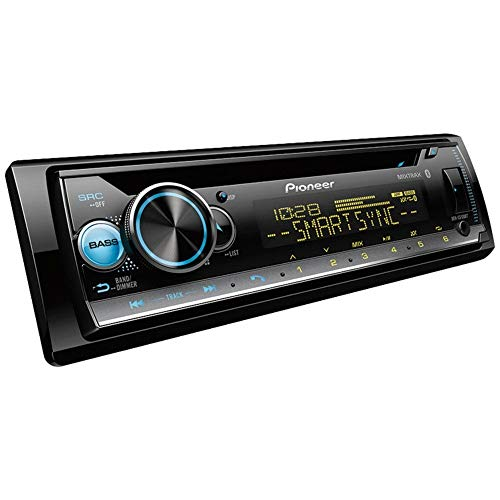 Pioneer DEH-S5100BT CD Receiver with Smart Sync App Compatibility/MIXTRAX/Built-in Bluetooth
