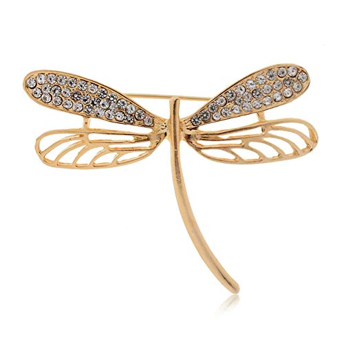 (Crystal Pearl Animal Butterfly Bird Flower Brooch Pin Decor Breastpin Gift Lot (StyleID - #221))