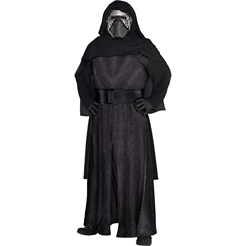 Costumes USA Star Wars 7: The Force Awakens Kylo Ren Costume Deluxe for Adults, Plus Size, Includes a Robe and More]()