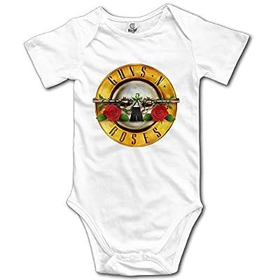 Guns N' Roses Bullet Boys Girls Baby Onesies Bodysuits Jumpsuits Set