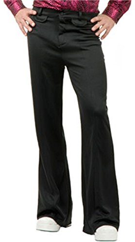 Charades Men's Disco Pant, Black, 34 -