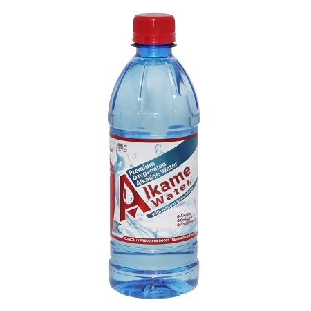 Oxygenated Water (Alkame Water, 16.9 Fluid Ounce (Pack of 24))