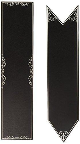 Darice DTB3112 6Piece, David Tutera Casual Elegance Chalkboard Signs -
