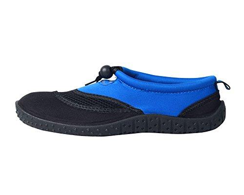Nachvorn Männer und Frauen Wasser Schuhe, schnell trocknende Aqua Schuhe zum Fahren, Schwimmen, Bootfahren, Yoga, Strand Blau