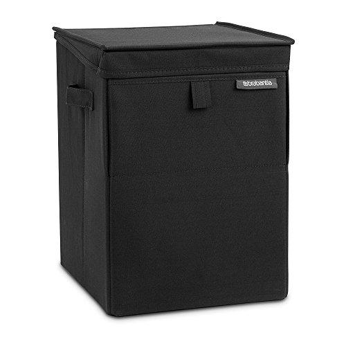 Brabantia Stackable Laundry Basket - Black