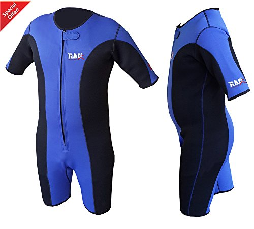 Heavy Duty RAD Sauna Sweat Suit Gym Boxing MMA Weight Los...