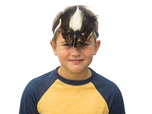 Authentic Real Skunk Halloween Face Mask (17-Mask-10) -