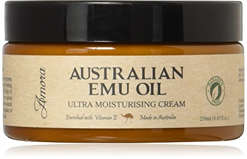 Paraben-Free Australian Emu Oil Ultra Moisturizing Cream (250ml)...