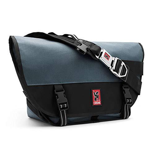 Chrome BG-001-INBK Indigo/Black One Size Mini Metro Messenger Bag Buckle