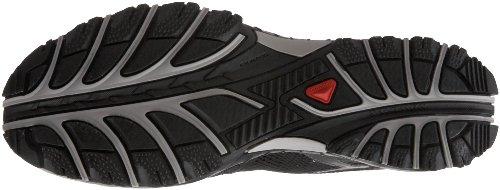 SALOMON Light Amphib3 Chaussures de Marche pour Homme, Noir/Gris, 42