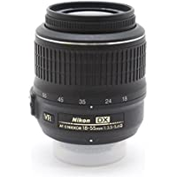 Nikon 18-55mm f/3.5-5.6G AF-S DX VR Nikkor Zoom Lens by Nikon - International Version (No Warranty) Bulk Packaging Lens