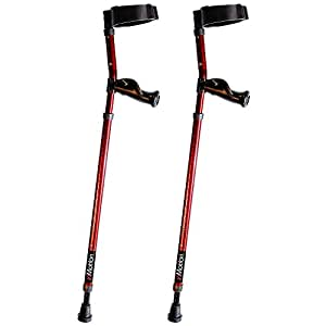 """Millennial Medical In-Motion Forearm Style Crutches - size Short (3'6"""" - 4'9"""") 
