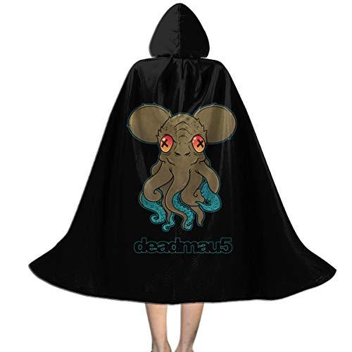 Deadmau5 Halloween Costume (Deadmau5 Kids Hooded Cloak Fashion Full Length Christmas Halloween Decoration Costume Cape)