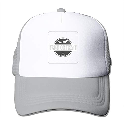 Good Wish Unisex Bat Fly Trick or Treat Halloween Trucker Cap Suitable for Indoor or Outdoor Activities -