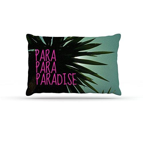 Kess InHouse Nika Martinez Exotic Paradise  Fleece Dog Bed, 50 by 60 , Multicolor