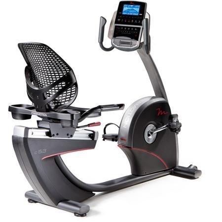 Step Thru Design C5 3 Recumbent Exercise Bike Dual Grip