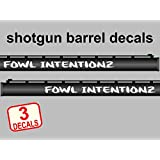 Amazoncom Custom Shotgun Barrel Decals Your Text Comes As Set Of - Custom gun barrel stickersgun barrel decals