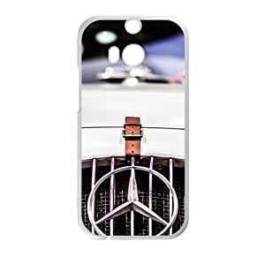 HUAH Benz sign fashion cell phone case for HTC One M8