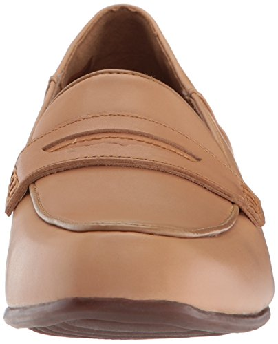 Clarks Damen Sneaker Light Tan Leather