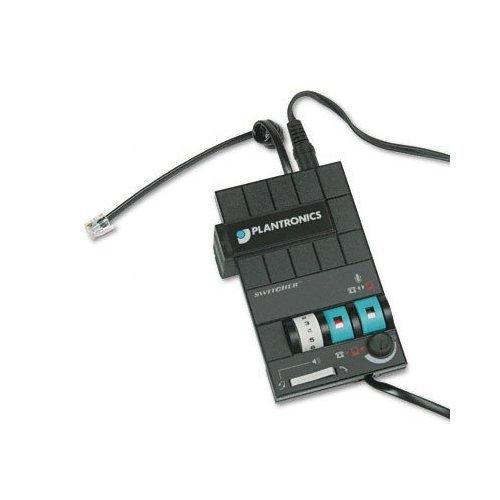 Plantronics CATMX10 MX-10 Headset Switcher Multimedia Amplifier ()