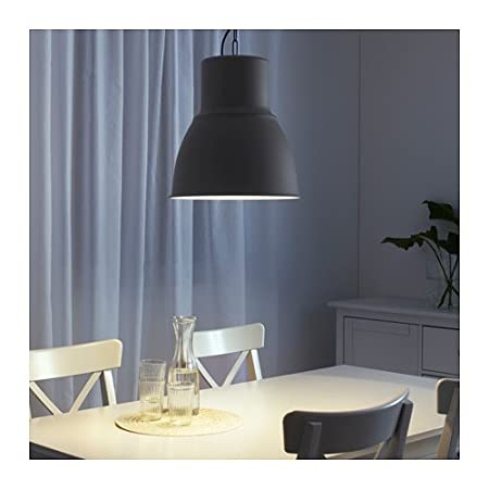Amazon.com: Ikea Pendant lamp, dark gray 15