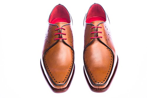Jeffery West Surreal Shoe in Mahogany