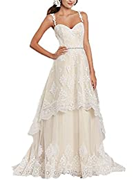 Amazon.com: High-Low - Wedding Dresses / Wedding Party: Clothing, Shoes & Jewelry
