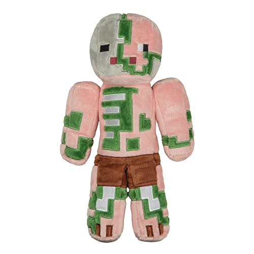 JINX Minecraft 12 Zombie Pigman Plush Stuffed Toy (Unboxed with Hang Tag)