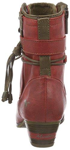 Mustang 1187-507, Botines para Mujer Rojo (5 rot)