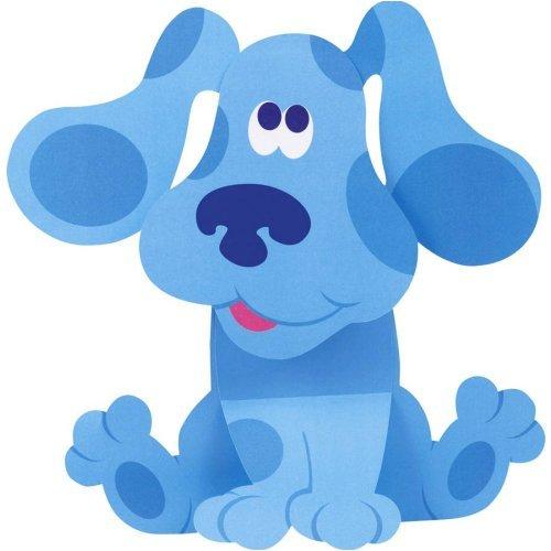 amazoncom blues clues stand up centerpiece 1ct toys games - Blue Clues