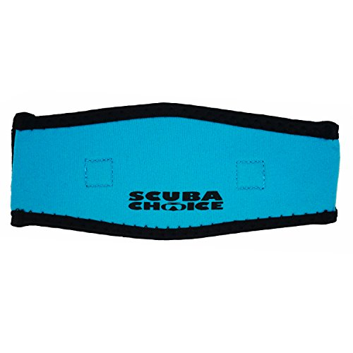 Scuba Choice Kids Comfort Neoprene Mask Strap Cover, Blue