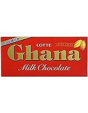 Lotte Ghana Milk Chocolate Bar, Chocolate, 50 g