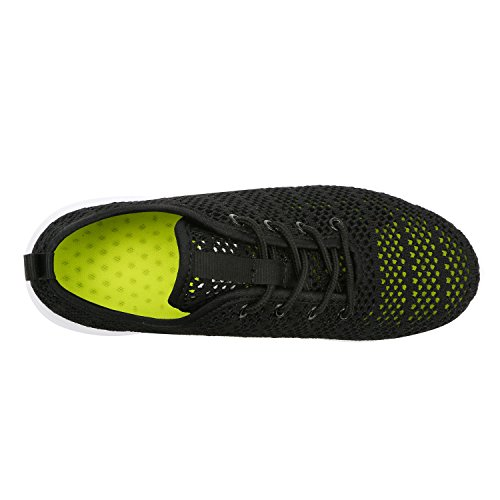 Fashion Casual Sport Sneakers Flexible YILAN 6 Shoes Black Women's O5qIp