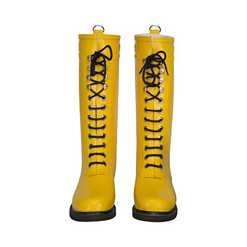 ILSE JACOBSEN Rub1 Boot - Women's Cyber Yellow 38 by ILSE JACOBSEN (Image #1)
