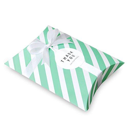 ft Box Medium Size 5ea in set 5 types Mint Stripe ()