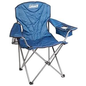 Coleman Cooler Quad Arm Chair, Blue, King Size