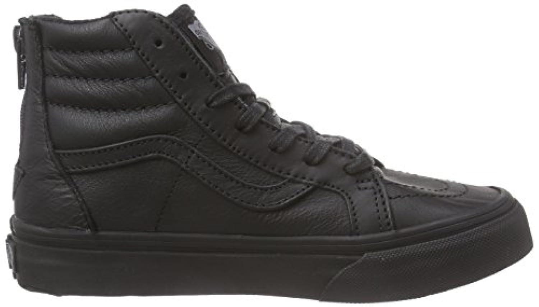Vans K Sk8-hi Zip Mte, Unisex Kids' Hi-Top Sneakers, Black ((mte) Black/l, 1 UK (32 EU)