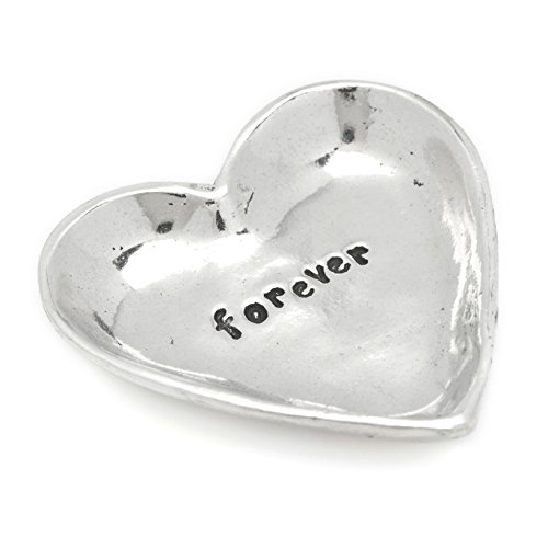 Forever Heart Small Pewter Trinket product image