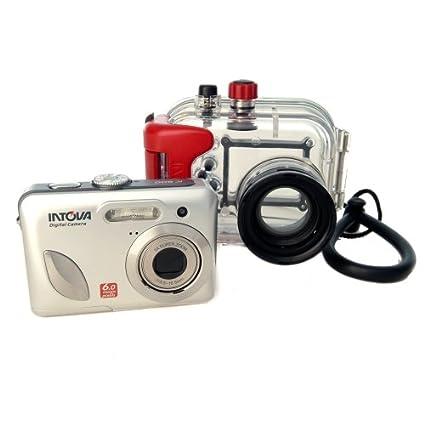 Amazon INTOVA INWD IC600 60 Megapixel Digital Camera With Waterproof Housing 180FT Underwater Cameras Photo