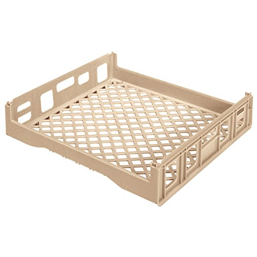 5000 Freezer Safe Plastic Stacking Bakery Tray, 29-Inch x 26-Inch x 6-Inch, Beige (Bakery Tray)