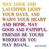 Quotable Magnet- May Love and Laughter Light Your Days... Irish Blessing by Quotable