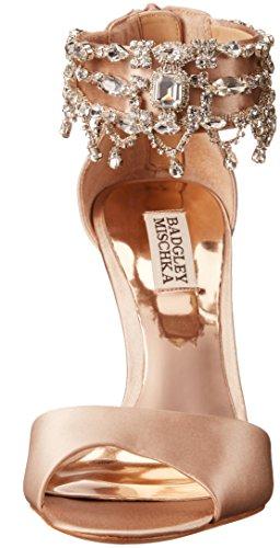 Badgley Mischka Womens Denise Dress Sandal Latte 9Gyi4wQ3UT