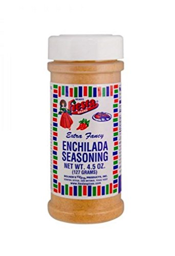 (Bolner's Fiesta Extra Fancy Enchilada Seasoning, 4.5-Ounce)