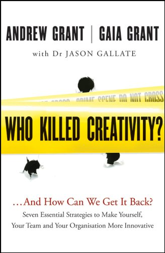 The essential guide to building a culture of creativity andinnovation throughout an organization Your help is needed to crack an unsolved crime: creativethinking is critical for future fulfillment and survival, and yetit is now declining at an alarmi...