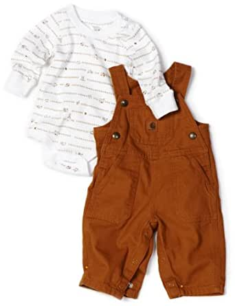 Amazon Carhartt Baby boys Infant Overall Set