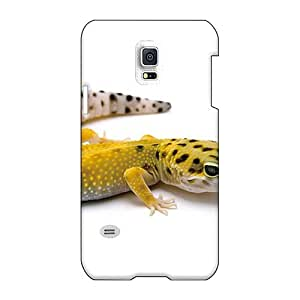 CharlesPoirier Samsung Galaxy S5 Mini Protective Hard Cell-phone Cases Provide Private Custom High Resolution Leopard Gecko Pattern [WVP11053rfZq]