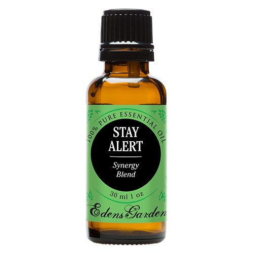 Edens Garden Stay Alert 30 ml Synergy Blend 100% Pure Undiluted Therapeutic Grade GC/MS Certified Essential Oil by Edens Garden