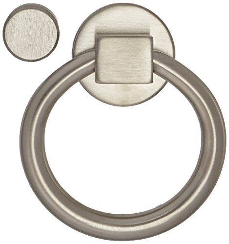 Ring Knocker - Baldwin 0195056 Ring Door Knocker, Lifetime Satin Nickel