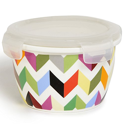French Bull Storage Container Porcelain