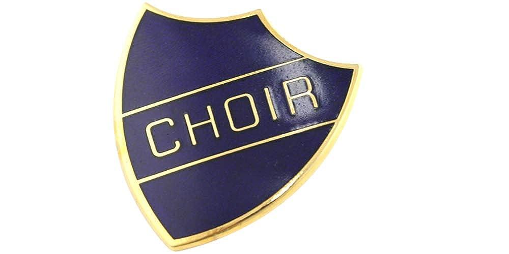 Capricornone Choir School Shield Badge Handmade Vitreous Enamel